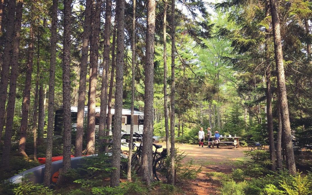 Campground Review #134 Amherst Shore Provincial Park, Nova Scotia