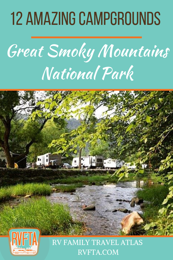 12 Amazing Campgrounds Near Great Smoky Mountains National