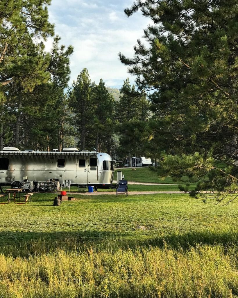 Rafter J Bar Ranch Campground Near Mount Rushmore In South Dakota