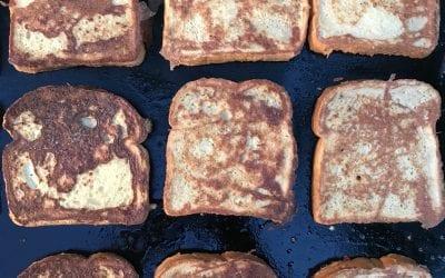 """Weekend Warrior French Toast (+Bonus Dessert """"Recipe"""")"""