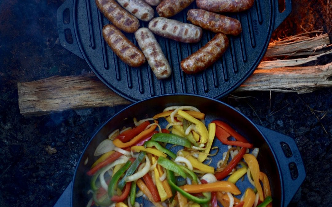 The Lodge Cast Iron Cook-It-All: A Brand New Way to Cook Over the Campfire