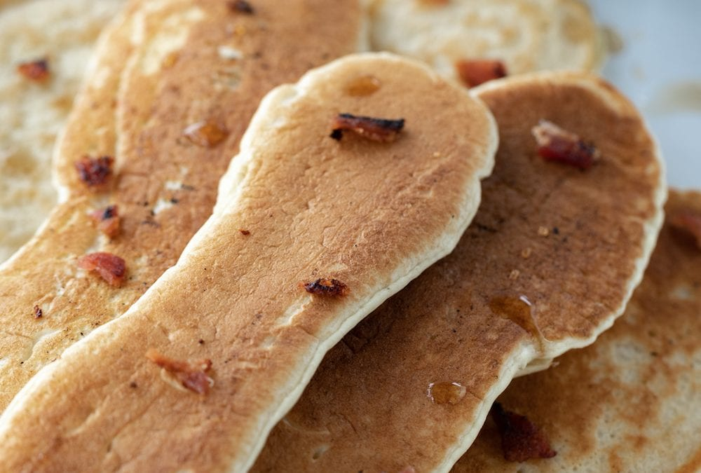Bacon Pancake Dippers from The Campground Gourmet by Kate Dunbar