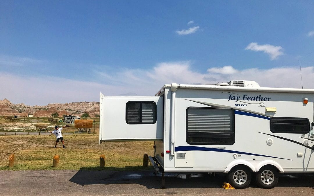 Campground Review: Cedar Pass Campground in Badlands National Park