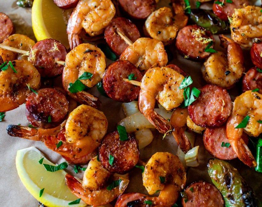 Cajun Shrimp Skewers by Kate Dunbar