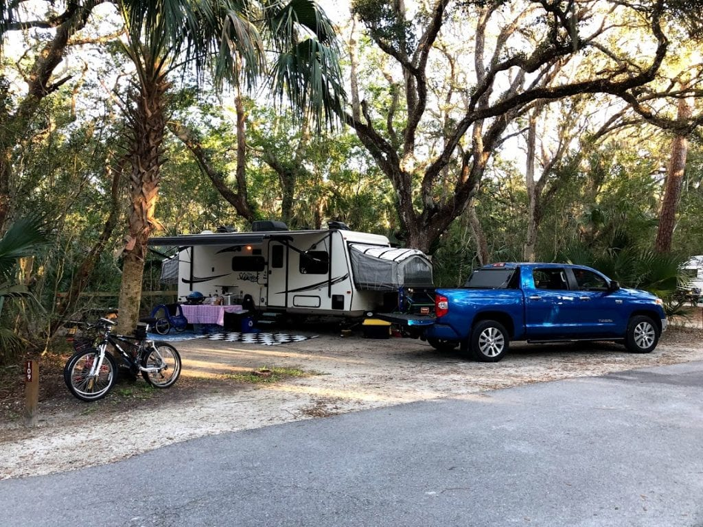 Florida Waterfront Campground