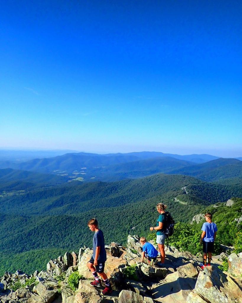 Family Friendly Hikes in Shenandoah National Park