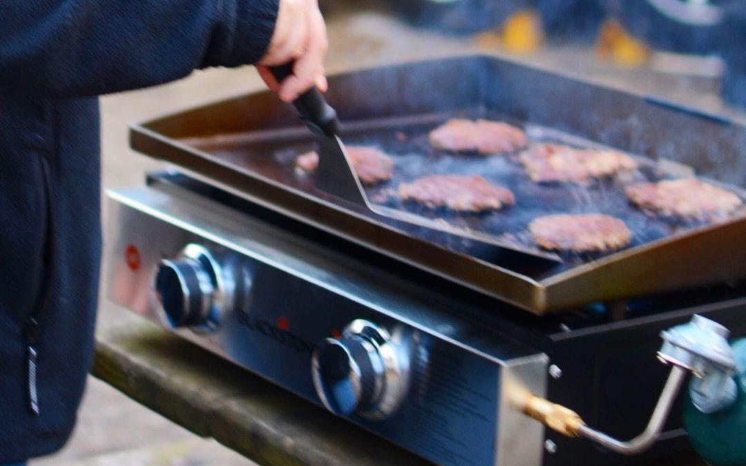 Making Perfect Smash Burgers With Blackstone's Chef Nathan Lippy