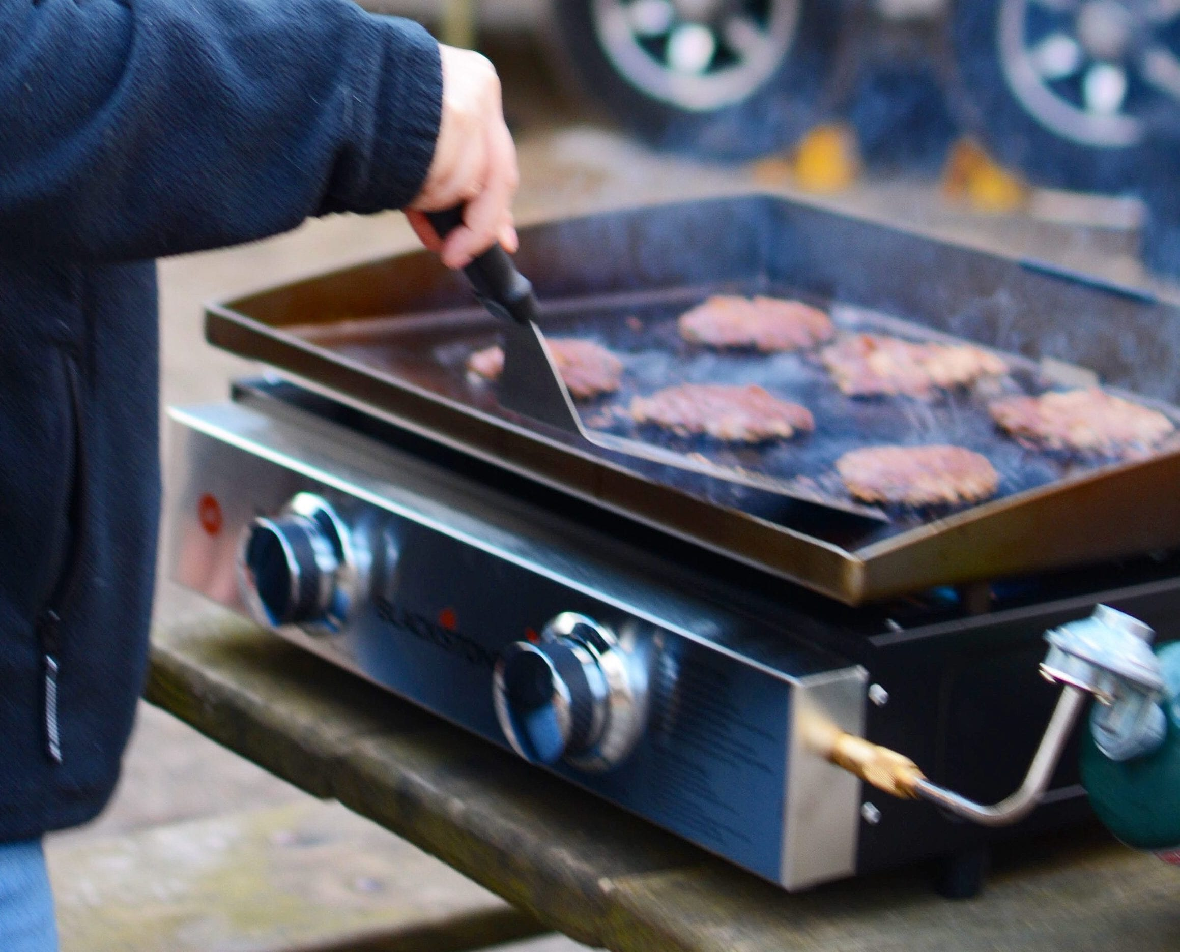 Making Perfect Smash Burgers With Blackstone S Chef Nathan Lippy The Rv Atlas