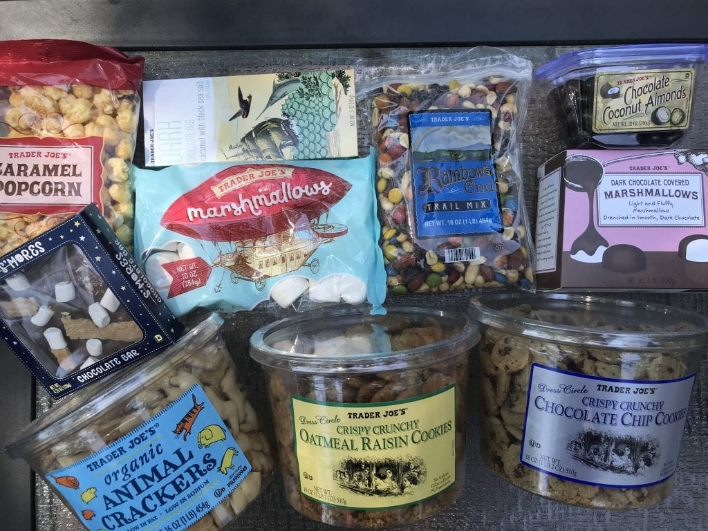 The Best Food For Camping At Trader Joe's The RV Atlas podcast