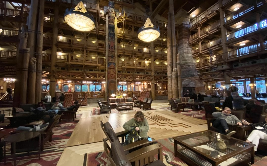 Wilderness Lodge versus Fort Wilderness