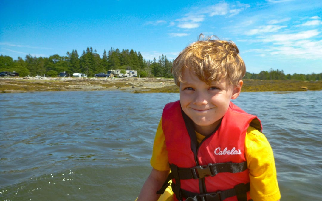 Max's Five Favorite Campgrounds: A Fifth-Grader Dishes on the Best of the Best