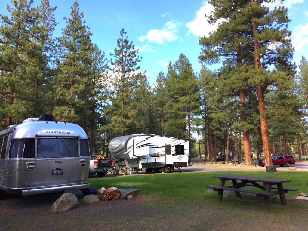 Central Oregon RV trip