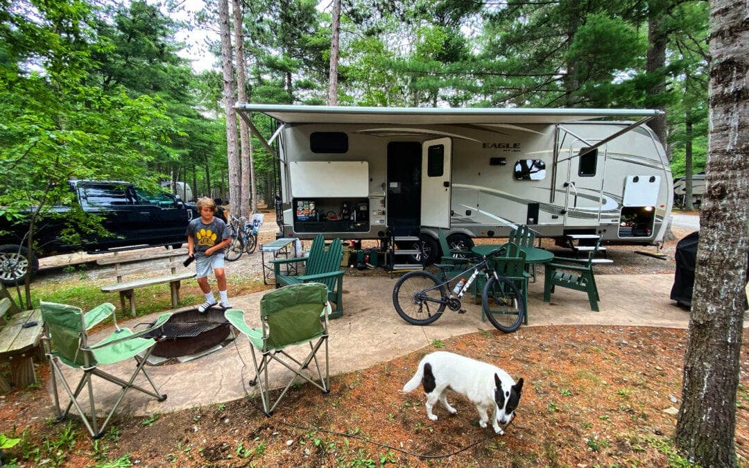 Campground Review of the Lake Placid / Whiteface Mountain KOA