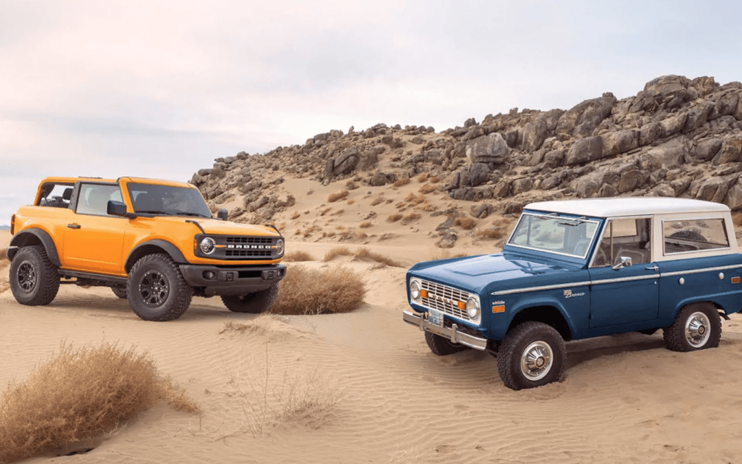 Say Hello to the All New Ford Bronco