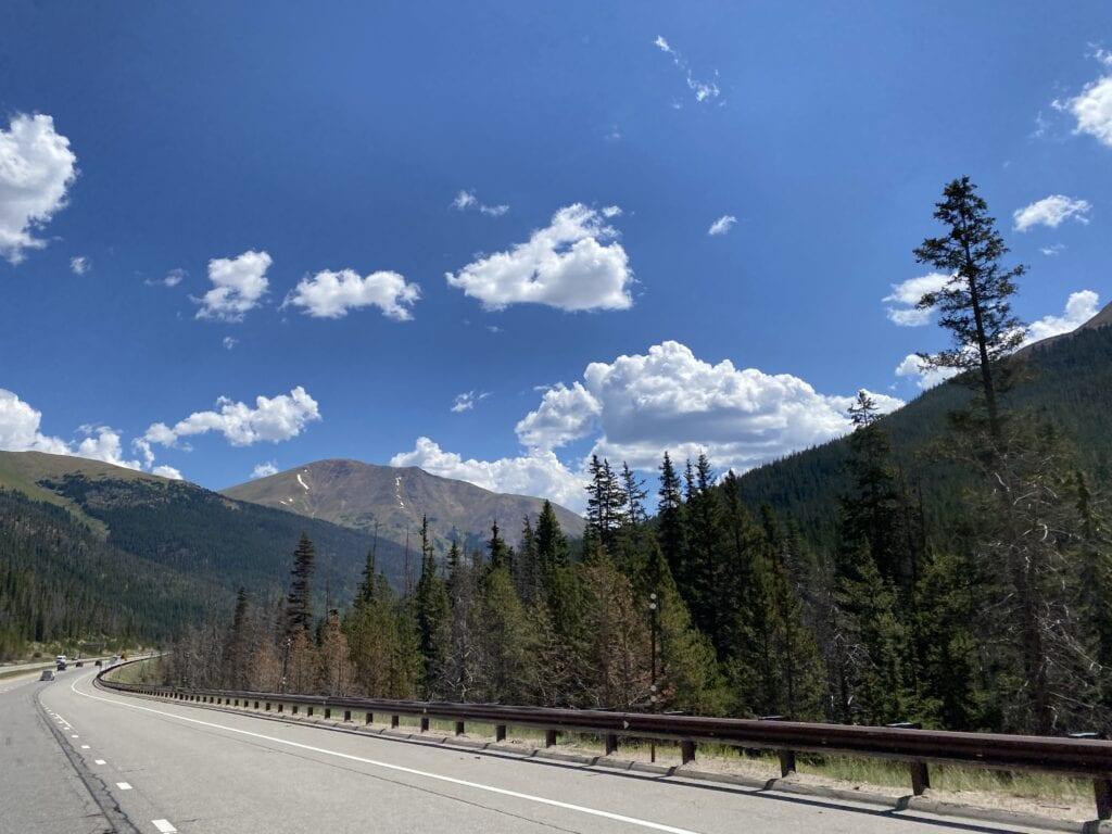 Interstate 70 through Colorado