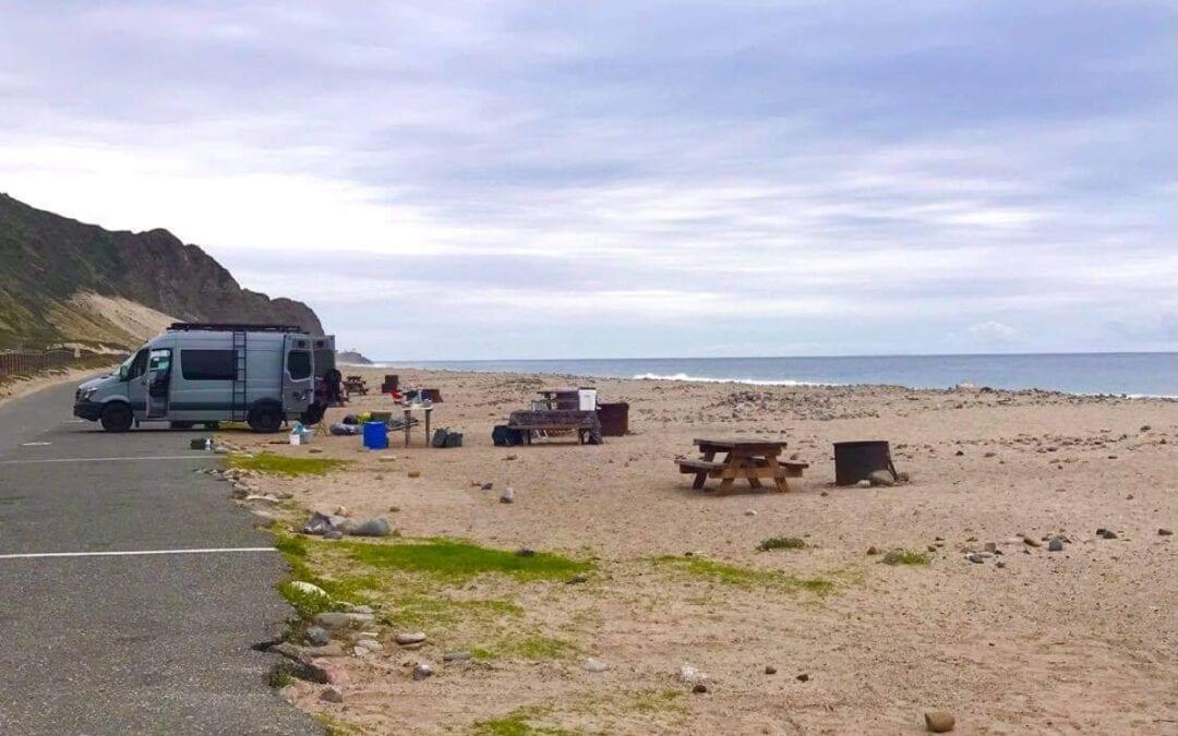 Southern California Beach Camping: San Diego to Santa Barbara!